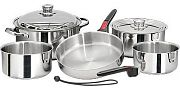 Magma A10360L 10 Piece Mirror Polished Stainless Steel Cookware