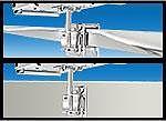 Magma T10340 Newport Single Side, Bulkhead or Square/Flat Rail Mount