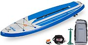 Sea Eagle HB96 Hybrid Inflatable SUP Electric Pump Package