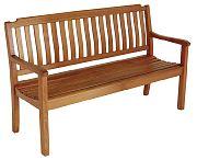 WhiteCap 60063 Teak 6 Ft. Garden Bench