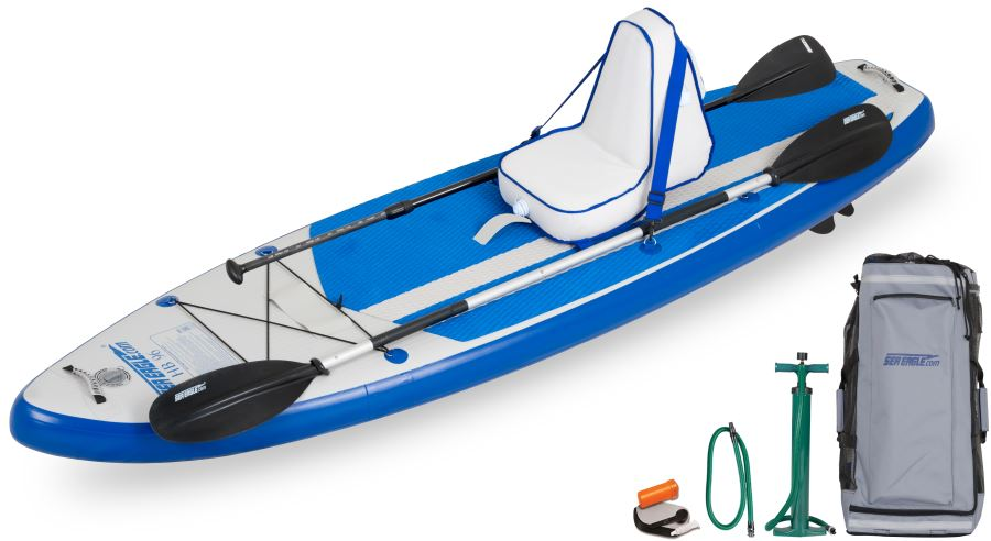 Sea Eagle HB96 Hybrid Inflatable SUP Deluxe Package - Sea